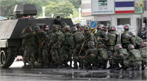 Thailand's military, which ceased power in a coup on May 22, has been cracking down on illegal labor.