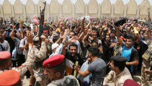 Thousands of Iraqis have volunteered to fight the insurgents that threaten the stability of their country.