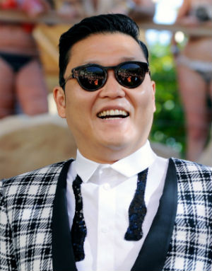 South Korean rapper, Psy's song 'Gangnam Style' has received over two-billion views on YouTube.