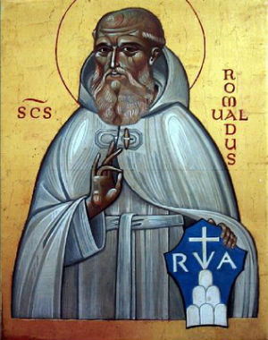 St. Romauld who founded the Camaldolese Benedictines.