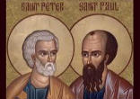 Image of On this great Feast we need to rededicate ourselves to being true witnesses, with an adult faith, willing to participate fully in this new missionary age of the Catholic Church. May the blood of the Martyrs continue to be the seed of the Church. St. Peter and St. Paul, pray for us!