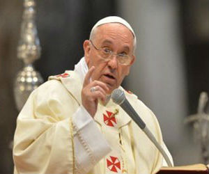 Everyday life confronts us with challenges: illness, having troubles with a family member, a paycheck that doesn't cover expenses or defaulting on a mortgage and losing one's home. These are all universal problems, Pope Francis said in his homily, according to a report by Vatican Radio.