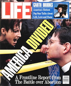 Pictured: Father Paul Schenck before he was a catholic priest, on the cover of Life Magazine. On Thursday, June 26, 2014, in a unanimous opinion styled McCullen v. Coakley, eighteen years after the Supreme Court opinion in the Schenck case, the Court finally finished the job. They put an end to bubble or buffer zones preventing Pro-Life speech.