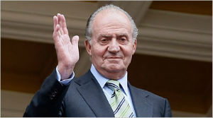 King Juan Carlos of Spain is set to abdicate the throne for health reasons. His son Felipe will succeed him.