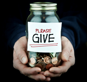 Charitable giving is needed all year around.