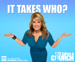 'It Takes a Church' premiers on the Game Show Network on Thursday ay 9PM ET.