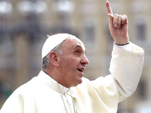 Pope Francis has called Catholics to begin sharing the Gospel, immediately.