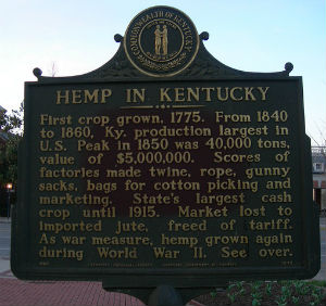 Now legal to cultivate in Kentucky, hemp is also legal in 15 other U.S. states that have removed barriers to hemp production.