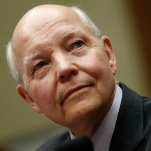 John Koskinen maintained that 'it is not unusual for computers anywhere to fail, especially at the IRS in light of the aged equipment IRS employees often have to use in light of the continual cuts in its budget these past four years.'