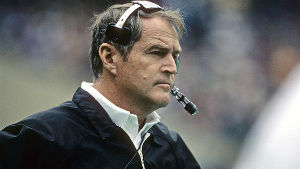 Chuck Noll won four Super Bowls from 1975-80, more than any other coach in NFL history.