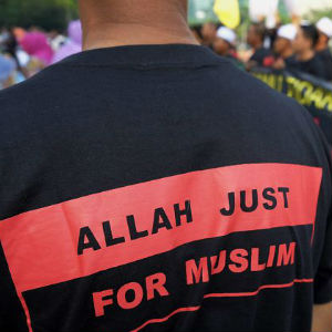 Authorities maintain that using 'Allah' in non-Muslim literature could confuse Muslims and entice them to convert, which is a crime in Malaysia.