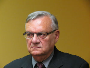 Arizona Sheriff Joe Arpaio wants to send American soldiers into Mexico to stop illegal immigrant invasion.