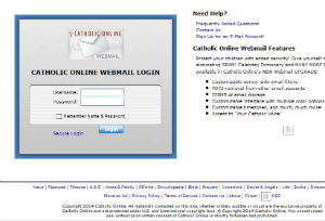 Catholic Online Webmail has been in service for nearly 20 years.