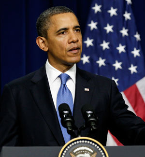 President Barack Obama is holding a press conference to discuss the crisis in Iraq today.