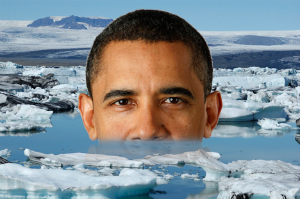 Obama and others will likely capitalize on climate change, making the issue their own as the impacts of that change slowly become apparent.