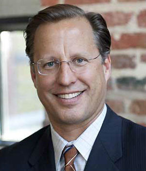 A triumphant Dave Brat declared his electoral victory as 'a miracle from God.'