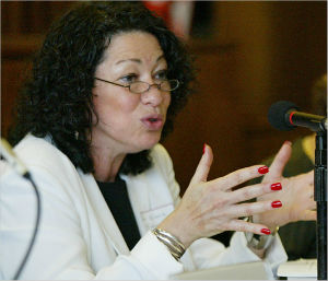 Justice Sonia Sotomayor wrote the courts opinion on the case, which protects whistle-blowers from repercussions for testifying.