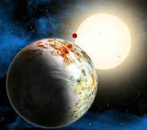 Kepler-10c is 17 times the mass of Earth.