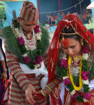 It is not surprising to see young indigenous women in the Philippines being forced to marry men six times their age in arranged marriages.