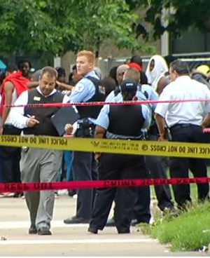 In one instance, a suspected 16-year-old gunman took Chicago Police officers on a foot chase before hiding under a parked car, where he was killed.
