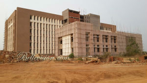 A picture of the new university being built in India, which will be that nations first Jesuit University.