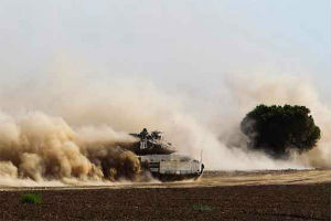 Israeli troops have pushed into the Gaza strip in an attempt to target and weaken Hamas militants.