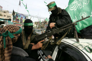 Hamas has vowed that every Israeli is now an open target, following an airstrike that destroyed a house and killed a Hamas fighter.