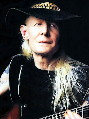Johnny Winter came forth about his heroin, prescription pill and alcohol addictions that derailed his career in the 1980s and 1990s in an authorized biography 'Raisin' Cain - The Wild and Raucous Story of Johnny Winter.'