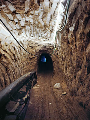 Other than giving Hamas tax revenue and weapons, the tunnels supply in-demand civilian goods like food and medicine, as well as infrastructure materials including concrete and fuel.