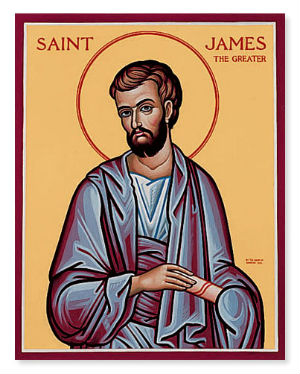 Father preaches on St. James the Apostle and how Our Lord used him to teach us humility.