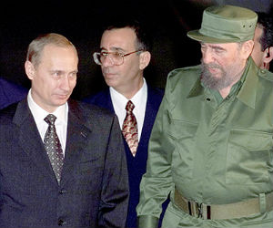 Cuba and Russia at one time enjoyed one of the firmest Cold War alliances. That relationship ended abruptly with the collapse of the Soviet bloc at the start of the 1990s.