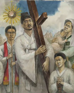 Pope Francis plans to beatify Korea's first martyr, Paul Yun Ji-chung, as well his 123 companions in his visit to South Korea in August.