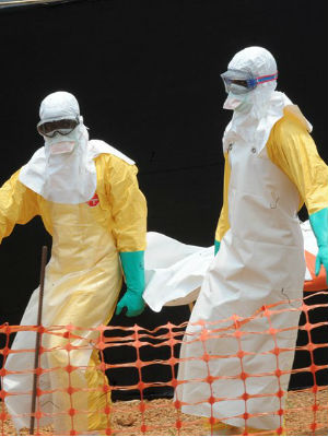 The WHO says that of the 632 deadly Ebola cases, 206 people had died in Sierra Leone.