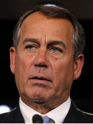'There's a lot of ways to deal with this issue,' john Boehner said. 'But we've got a Republican House and we've got a Democratic Senate. And there are a lot of things we've passed here that the Senate clearly has not passed.