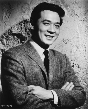 Actor James Shigeta as he appeared in his first major screen role, 'Flower Drum Song.'