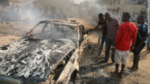 The anti-education Muslim group, Boko Haram, attacked a town in northeast Nigeria, displacing 15,000 and killing more than 60 people.