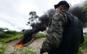 Drug and crime wars in Central America have created a crisis, as tens of thousands poor across the U.S. border.