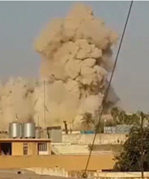 Militants belonging to the Islamic State in Iraq and Syria, or ISIS, are said to have planted explosives around the tomb and detonated the explosion remotely.
