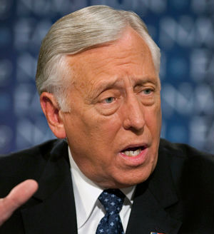'Article 1 of the U.S. Constitution states that Congress has the power to make laws governing naturalization. Given this, does President Obama have the unilateral power to legalize illegal aliens?' Hoyer was asked.
