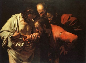 Thomas the doubter became the Thomas the model believer, an example for each one of us. He is a great beacon of light for all of us as we cry out with him, MY LORD AND MY GOD!