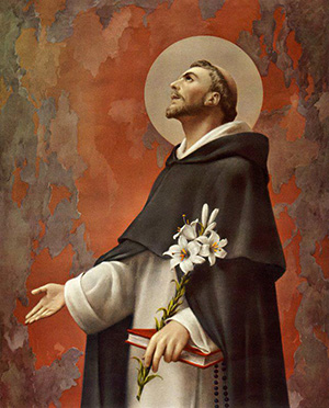 St. Dominic's Feast Day is August 8th.