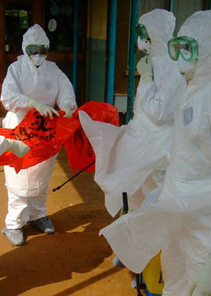 The latest figures have recorded 128 new cases of Ebola virus disease, as well as 56 deaths.