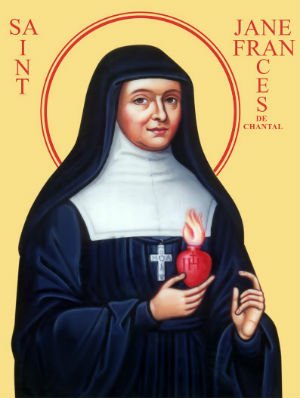 Fr. Joachim on the life of St. Jane Frances de Chantal and how she was one of the greatest in the eyes of God since she loved him with a childlike heart and how this can be even greater in the eyes of God than physical martyrdom.