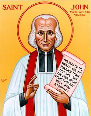 The Divine Office and the Rosary were the bulwark of St. John Vianney's prayer life. He could always be seen carrying his Breviary and Rosary - a true lesson for all Priest.
