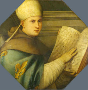 Looking at today's saint, St. Louis of Toulouse, we can see a man who did give up all, became poor, and shared in the self-giving of Christ, being rewarded for his labors by entering into paradise at the young age of twenty-four.