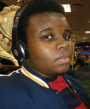 A Facebook photo of Michael Brown, the 18-year-old who was shot and killed by a police officers on August 9.