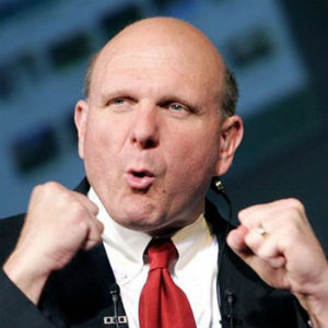 Steve Ballmer, former Microsoft CEO and now owner of the Los Angeles Clippers franchise.