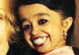 Image of At two feet, half-an-inch tall, Jyoti Amge of India is the world's smallest woman.