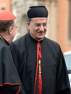 The recent summit addressing IS was presided over by Cardinal Bechara Rai, Maronite patriarch.