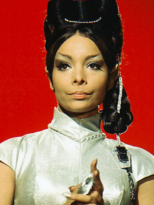 Leonard Nimoy tweeted his tribute to her: 'Saying goodbye to T'Pring, Arlene Martel. A lovely talent.'